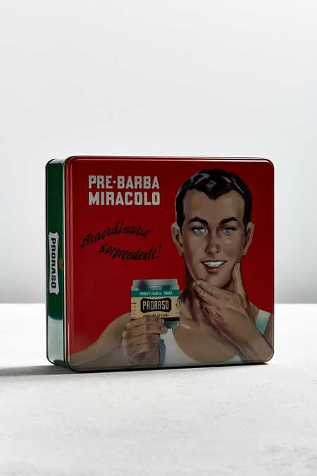 Proraso Vintage Tin Shaving Set