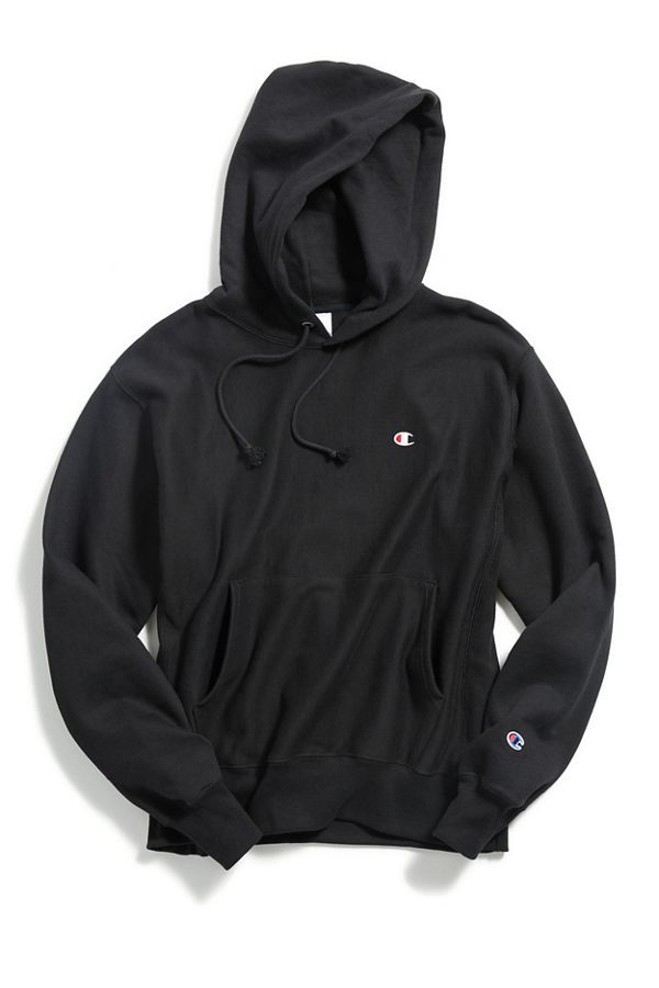 Slide View 1 Champion Reverse Weave Hoodie Sweatshirt