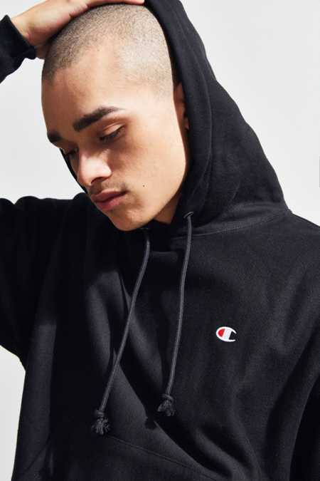 Slide View: 5: Champion Reverse Weave Hoodie Sweatshirt