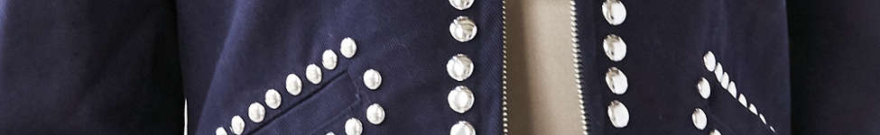 Thumbnail View 3: Ecote Studded Zip-Up Jacket