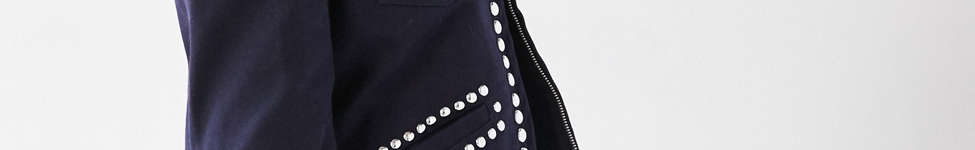 Thumbnail View 4: Ecote Studded Zip-Up Jacket