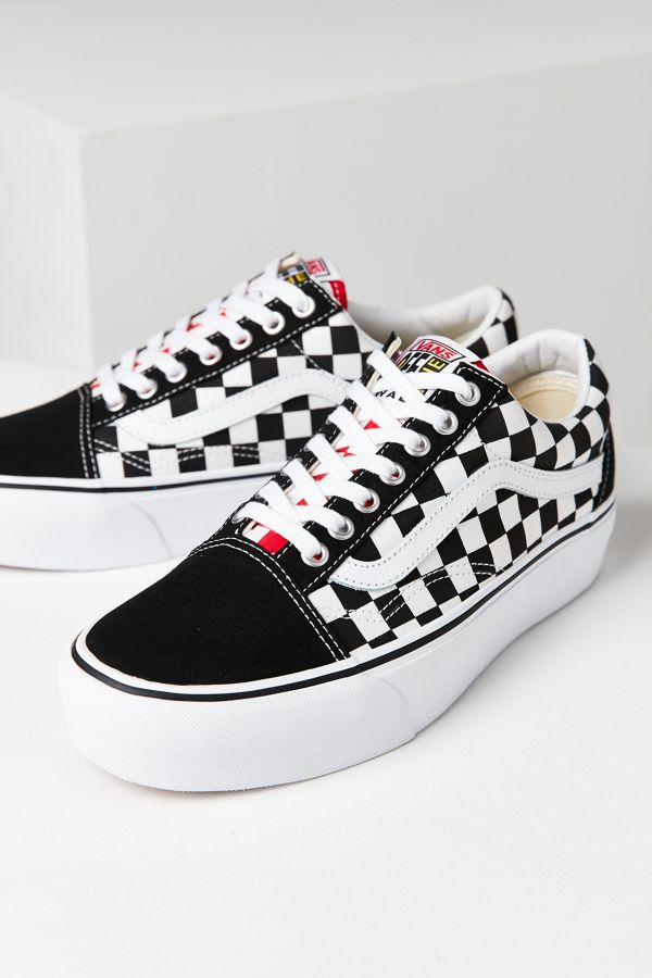 Vans Old Skool Canvas Women Platform Shoes Sneakers