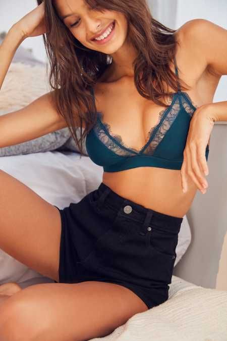 Out From Under Alexandra Jersey Lace Triangle Bra