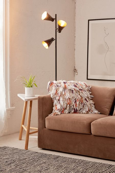 Floor lamps lighting urban outfitters tres floor lamp mozeypictures Image collections