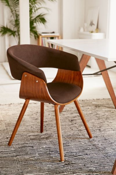 Wanda Chair - Chocolate One Size at Urban Outfitters