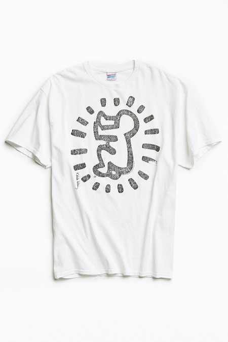Junk Food Keith Haring Baby Washed Tee