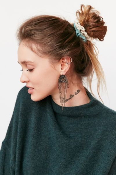Mini Scrunchie Set - Neutral Multi One Size at Urban Outfitters