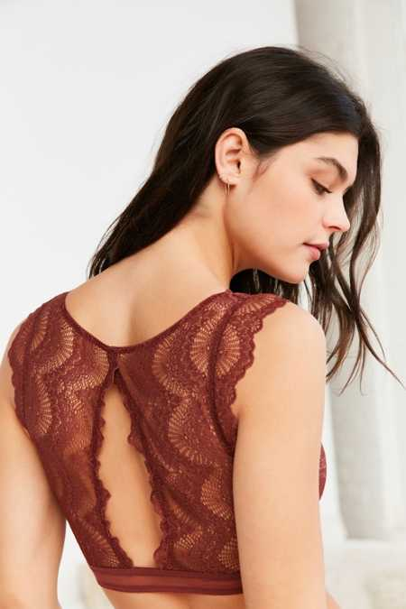 Out From Under Nicole Flutter Sleeve Lace Bra