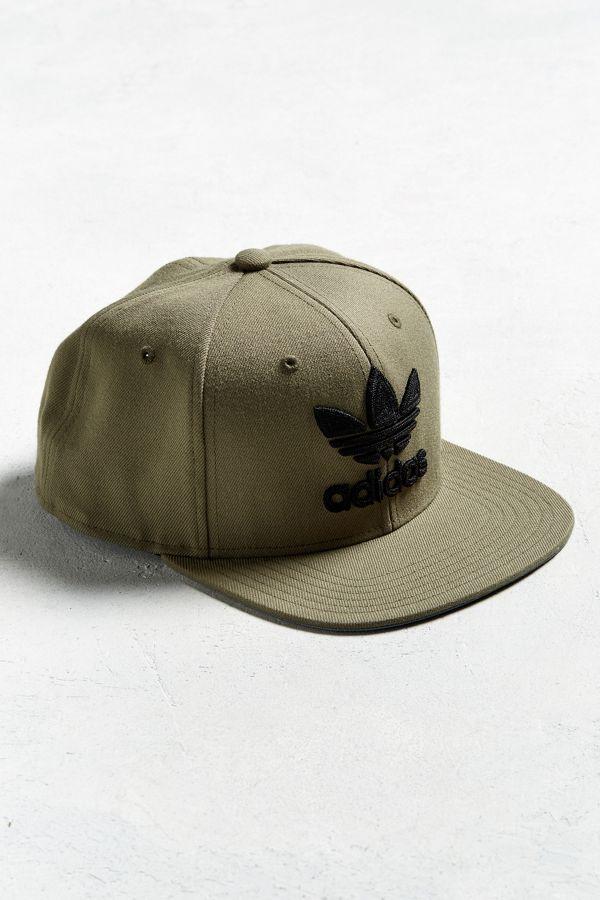 adidas Originals Trefoil Chain Snapback Hat  e0325aed7fcf