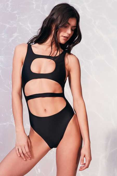 Lee + Lani X LnA Volcanic One-Piece Swimsuit