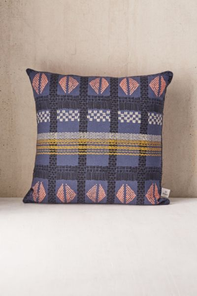 Kirra Geometric Print Throw Pillow