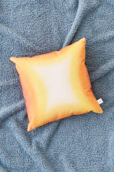 Neon Spray Throw Pillow