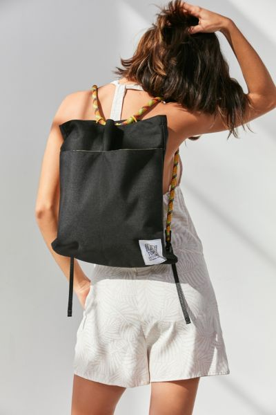 Topo Designs Rope Pack Tote Bag - Black One Size at Urban Outfitters