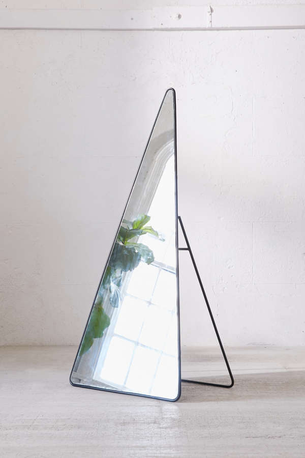 Triangle Standing Mirror Urban Outfitters