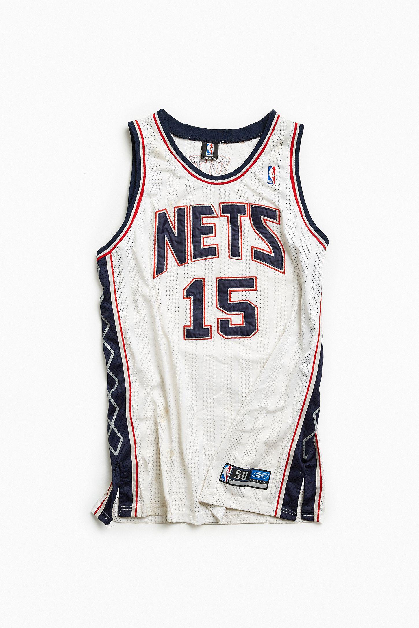 Vintage NBA New Jersey Nets Vince Carter Basketball Jersey  c9abf96c3