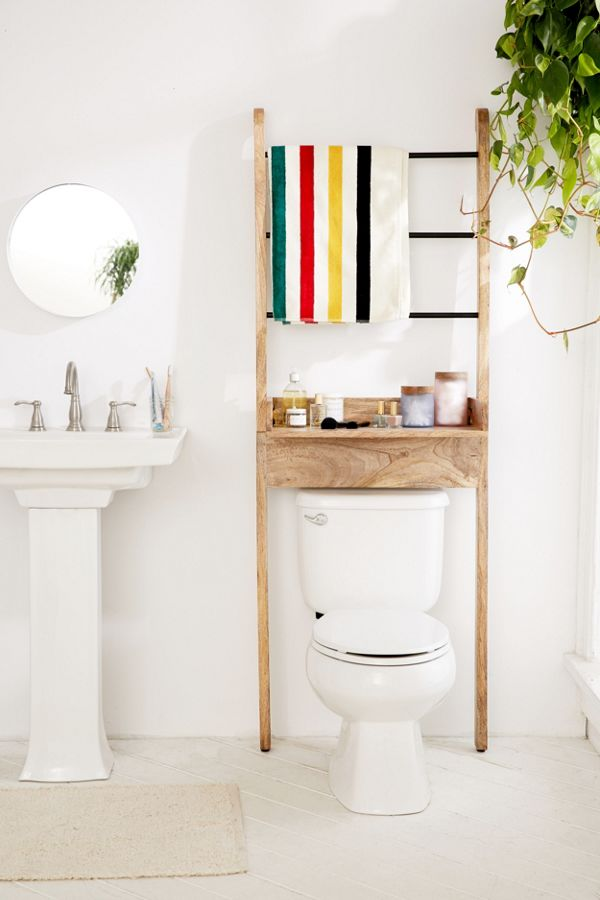 Bronte Bathroom Leaning Ladder Storage