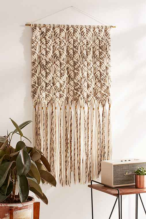 macrame wall hanging outfitters marled macrame oversized wall hanging outfitters 7629