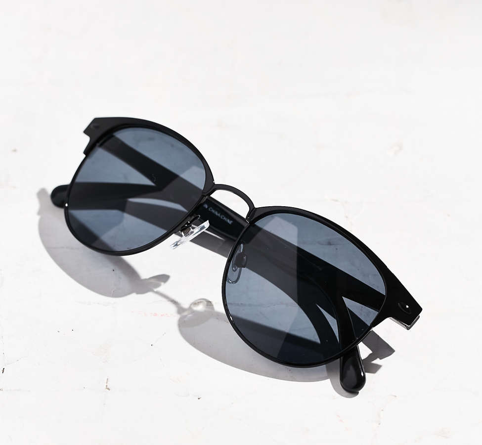Slide View: 5: Camille Painted Square Sunglasses