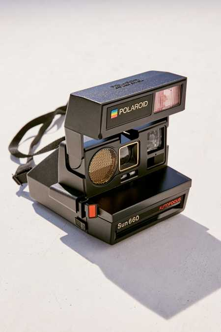 Impossible Polaroid 660 Sun Instant Camera