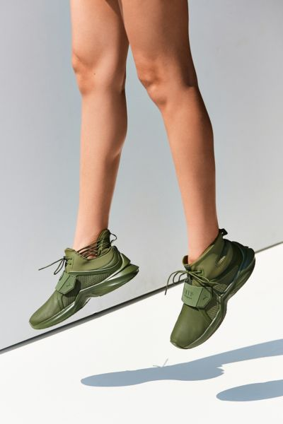 Puma Fenty by Rihanna Trainer Hi Leather Sneaker - Green 5.5 at Urban Outfitters