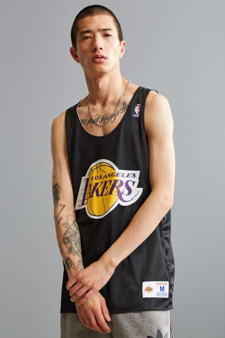 Mitchell & Ness NBA Los Angeles Lakers Mesh Jersey