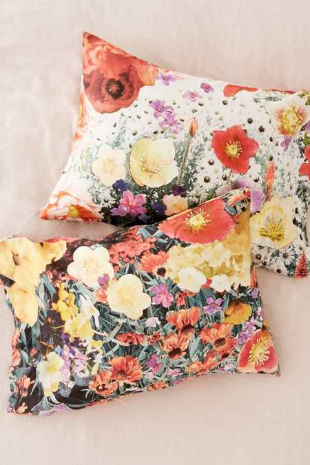 Mina Floral Photo Pillowcase Set