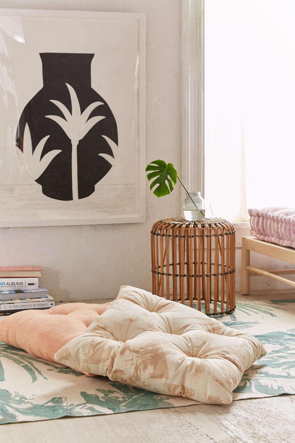 Slide View: 1: Monterey Palms Floor Pillow