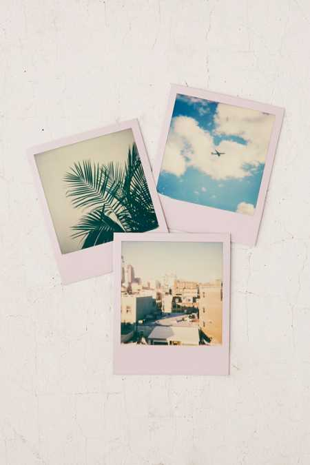 Impossible X UO Lilac Polaroid 600 Instant Film