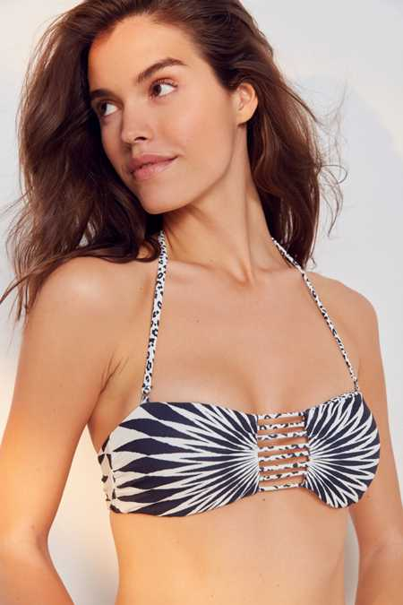 Billabong Wild Bound Reversible Bandeau Bikini Top