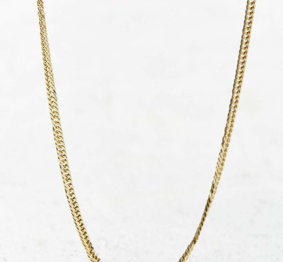 Slide View: 1: UO Miami Cuban Link Long Chain