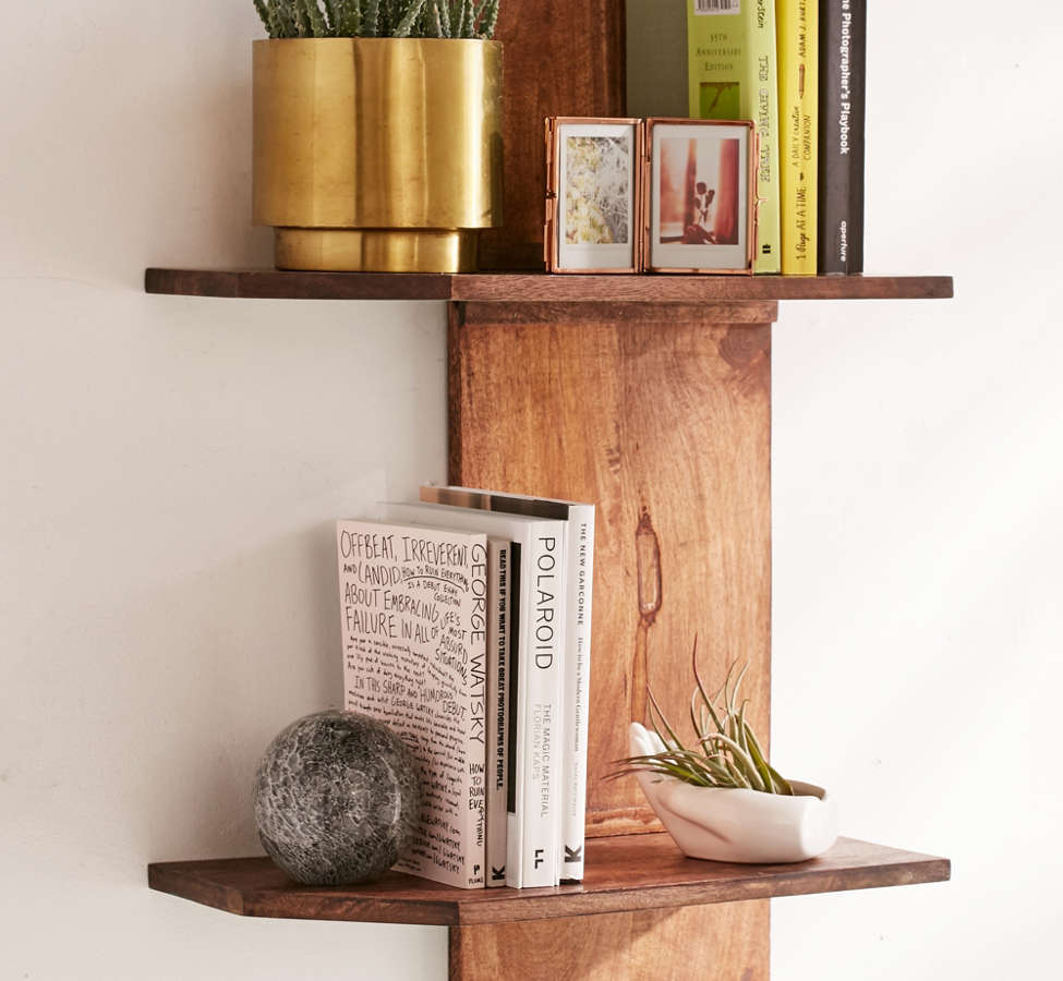 Slide View: 1: Pirro Double Wall Shelf