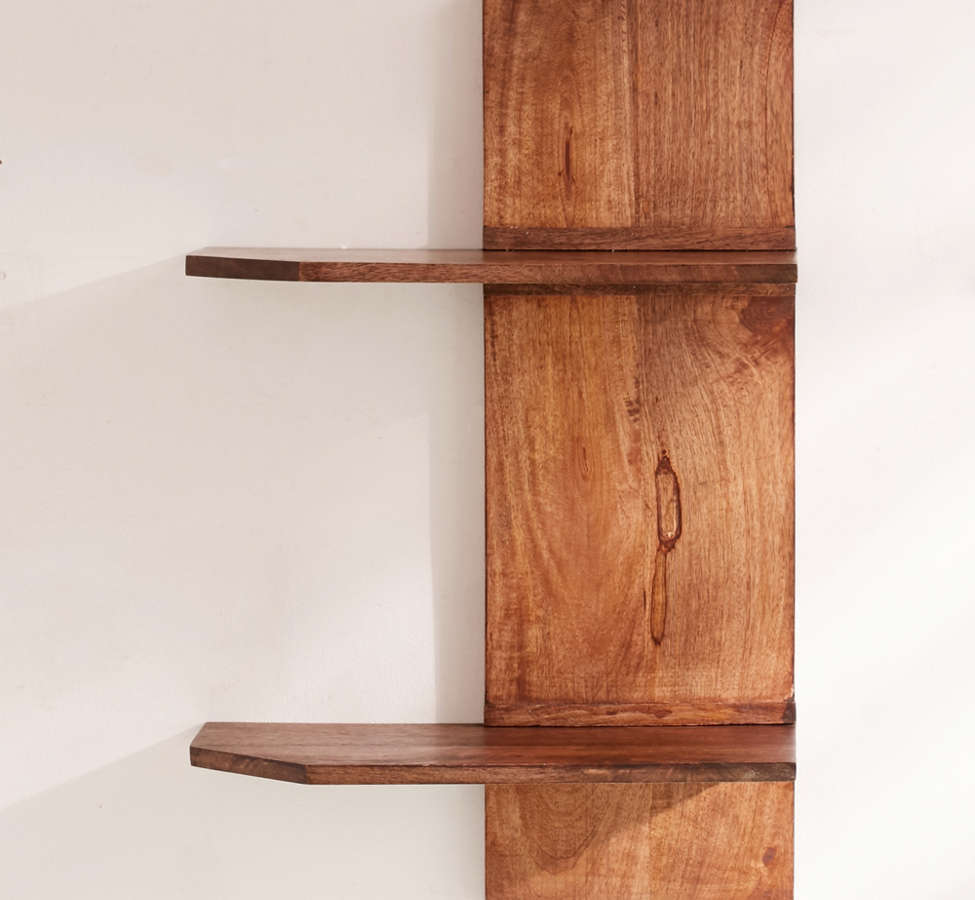 Slide View: 2: Pirro Double Wall Shelf