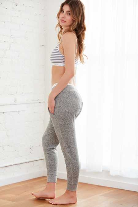 Out From Under Don't Wait Cozy Fleece Jogger Pant