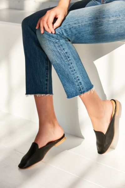 Driving Loafer Mule - Black 37 EURO at Urban Outfitters