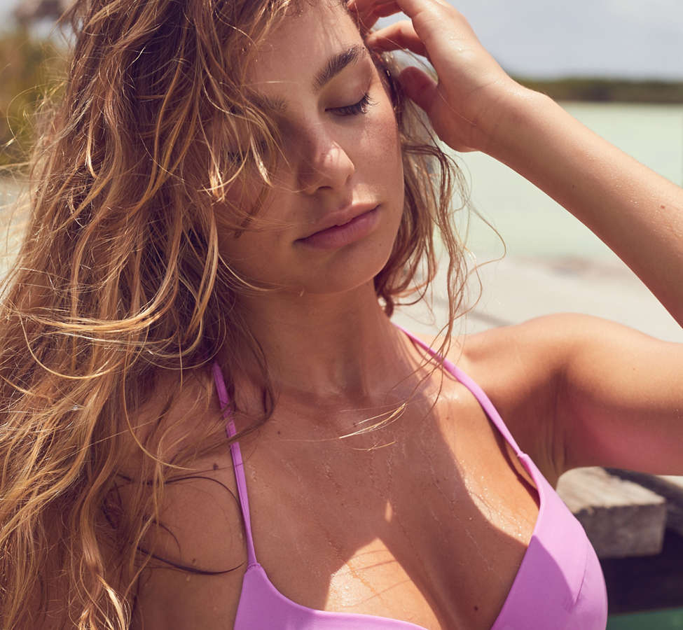 Slide View: 5: Out From Under Underwire Demi Bikini Top