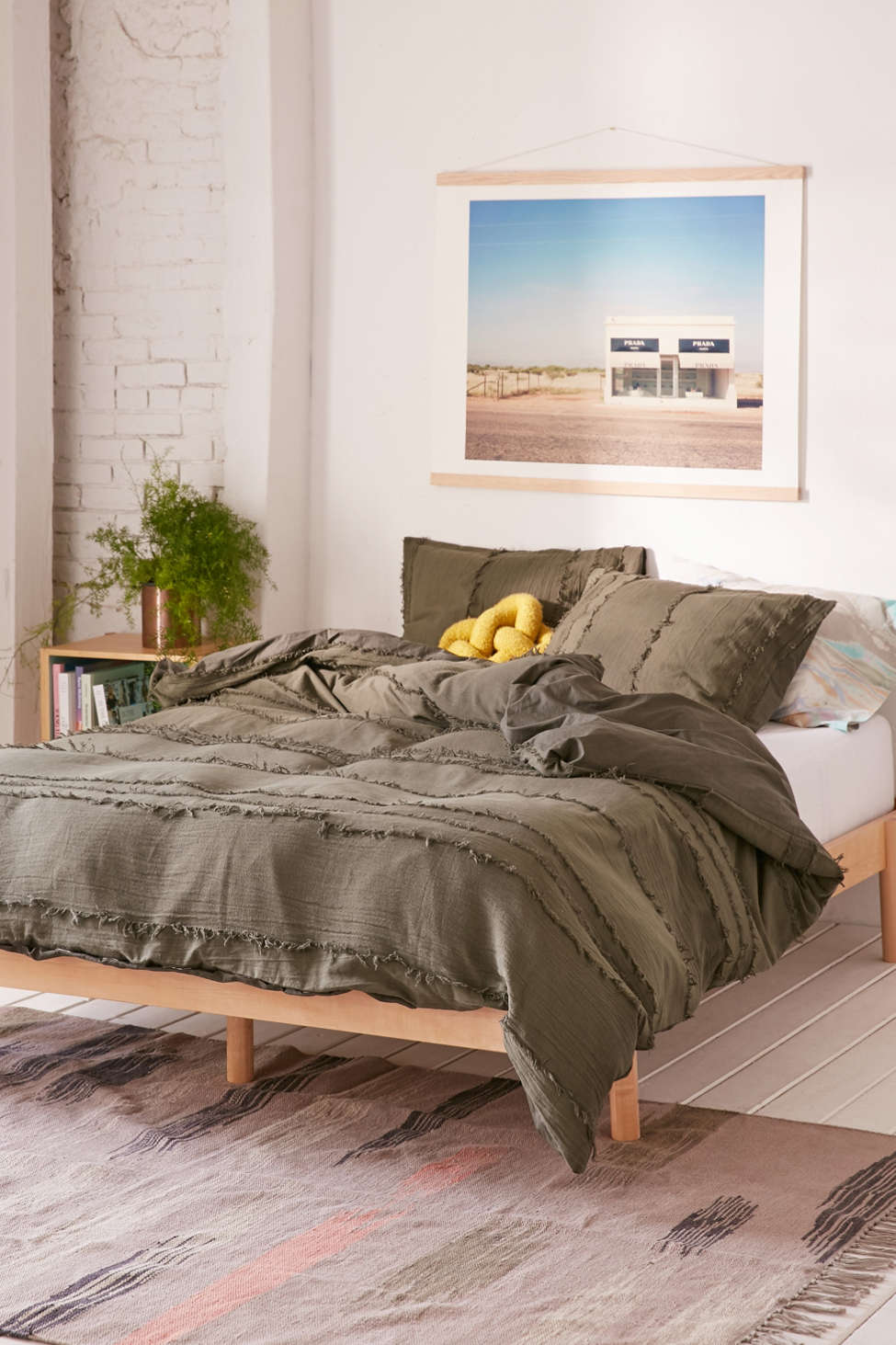 Willow Fringe Duvet Cover Urban Outfitters