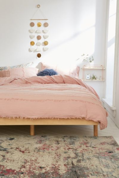 Willow fringe duvet cover urban outfitters Urban outfitters bedroom lookbook
