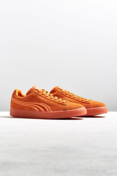 Puma Suede Classic Iced Sneaker - Orange 9 at Urban Outfitters