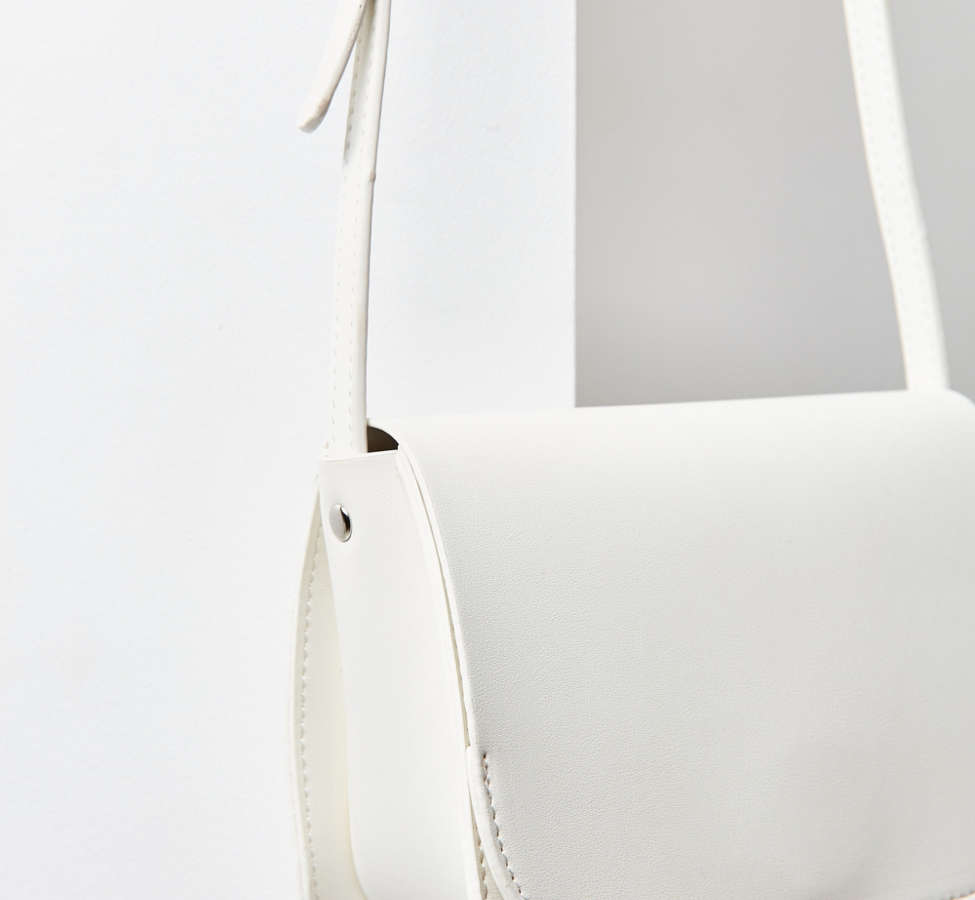 Slide View: 3: Sheryl Saddle Crossbody Bag