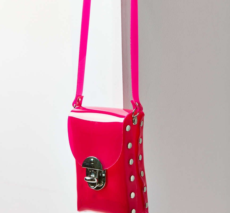 Slide View: 2: Dolly PVC Crossbody Bag