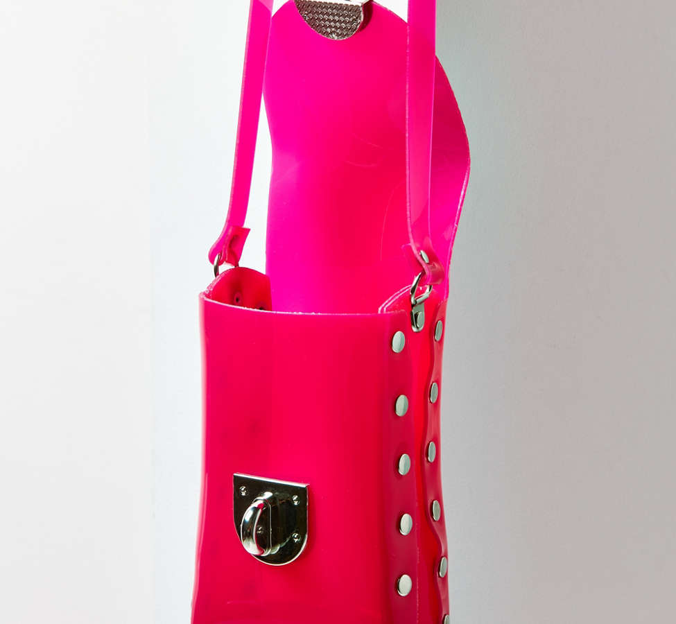 Slide View: 4: Dolly PVC Crossbody Bag