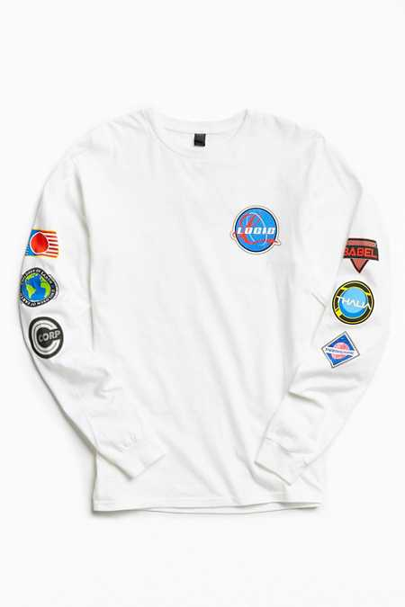 Logic Space Patches Long Sleeve Tee
