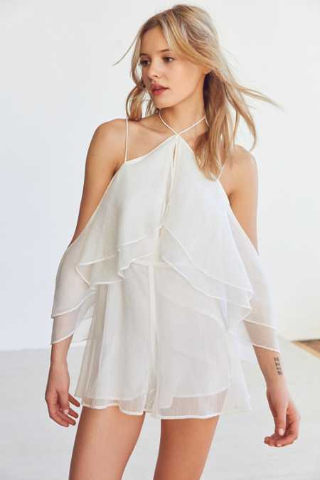 Finders Keepers Ruffle Romper