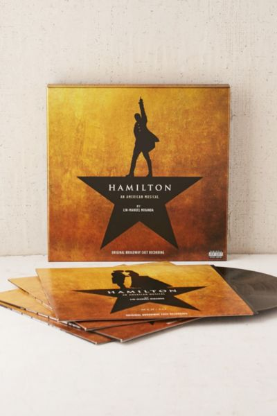 Various Artists - Hamilton (Original Broadway Cast Recording) 4XLP - Black One Size at Urban Outfitters