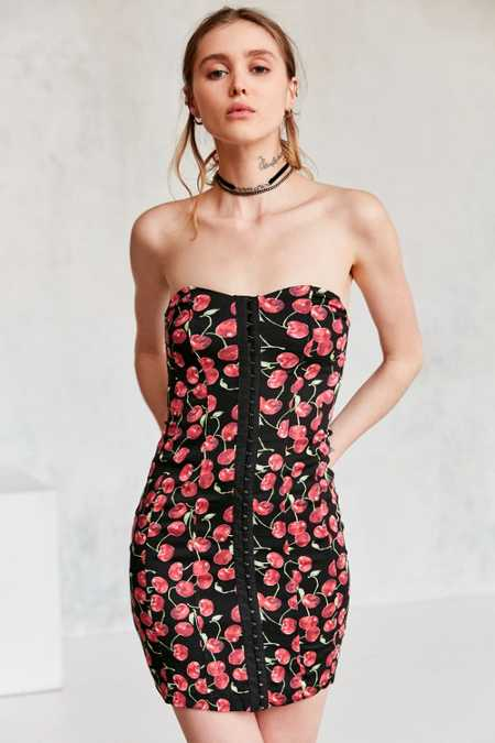 Cooperative Cherrilynn Hook + Eye Strapless Dress