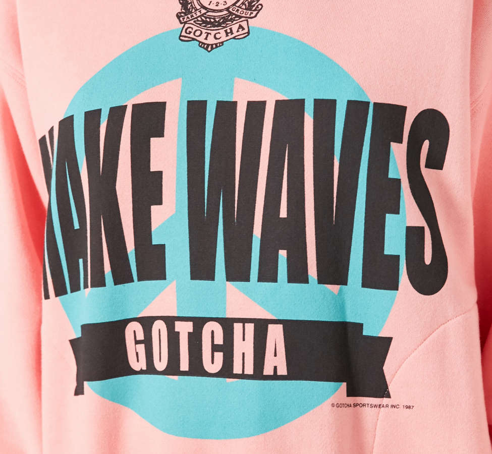 Slide View: 3: Gotcha For UO Waves Mock-Neck Sweatshirt