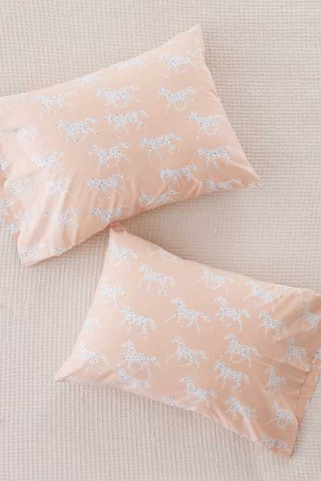 Ditsy Horses Pillowcase Set