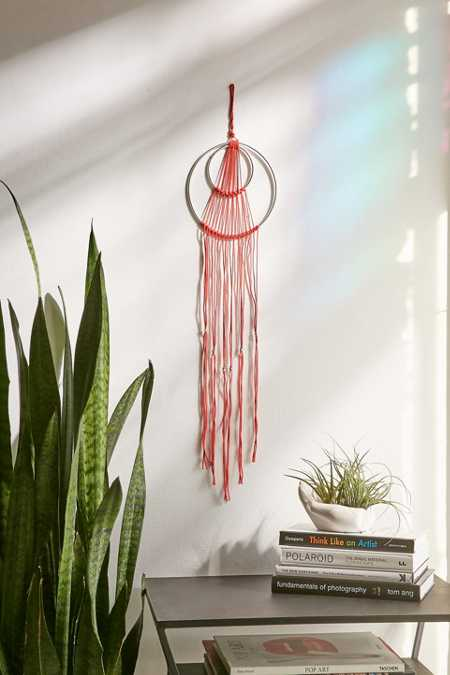 Edra String Hoop Wall Hanging. Red   Room Accessories   Room Decor   Urban Outfitters