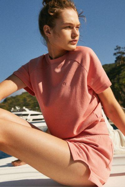 Op For UO Short Sleeve Fleece Top