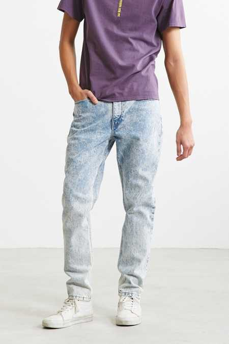 BDG Powder Blue Acid Wash Slim Jean